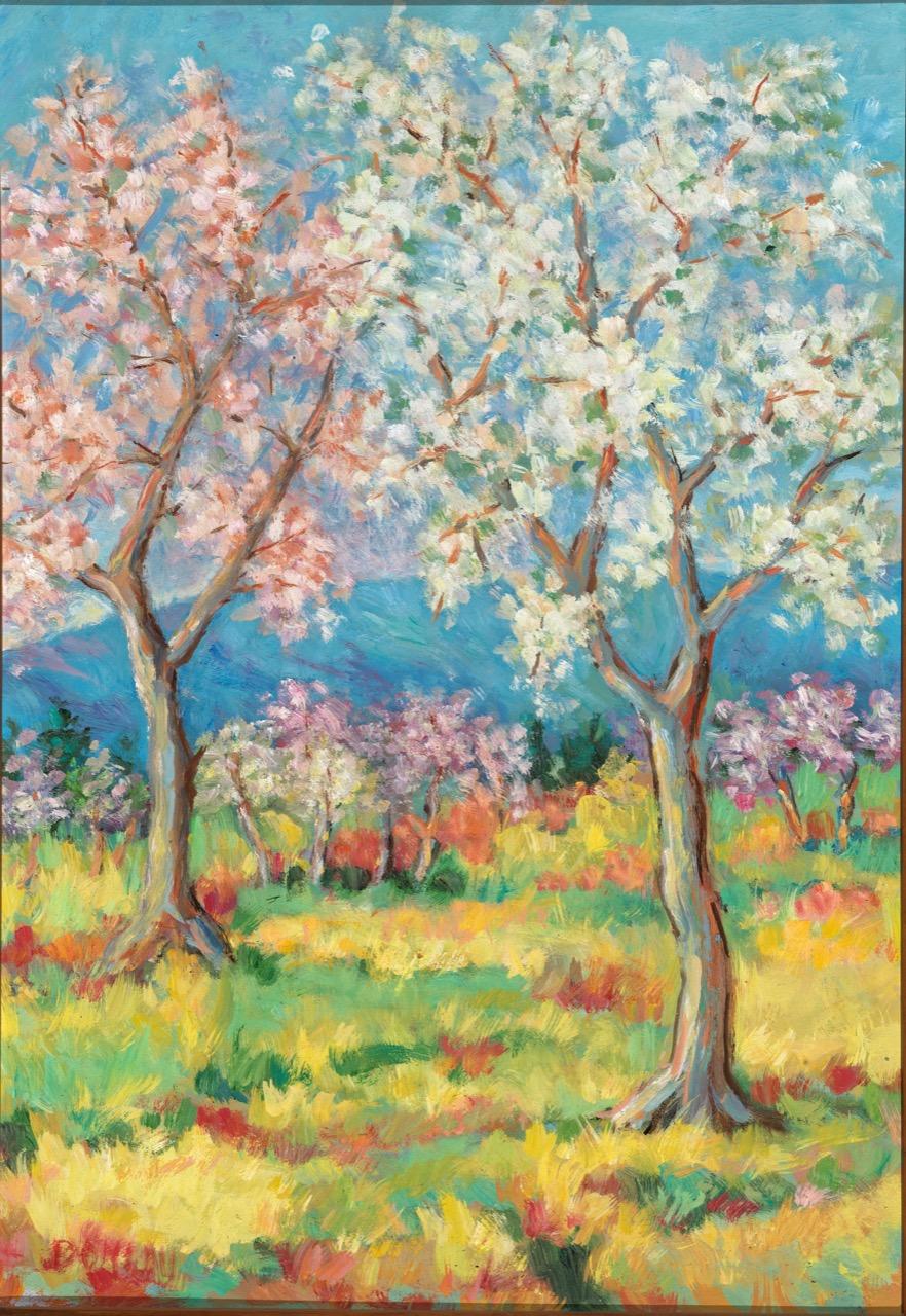 Fioritura di primavera 45x60 cm