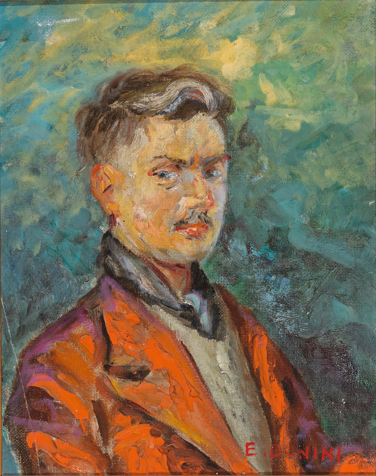 Autoritratto, 1953, 33x41 cm