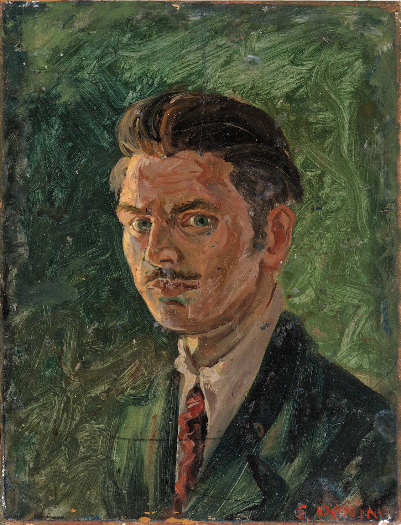 Autoritratto, 1937, olio su tavola, 30x23 cm